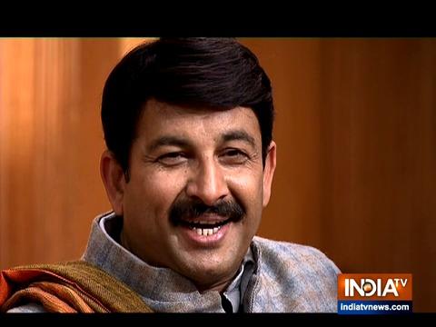 Manoj Tiwari in Aap Ki Adalat: Delhi BJP chief targets Arvind Kejriwal over AAP's free schemes
