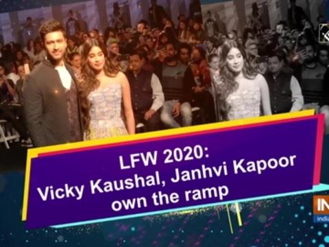 LFW 2020: Vicky Kaushal, Janhvi Kapoor own the ramp