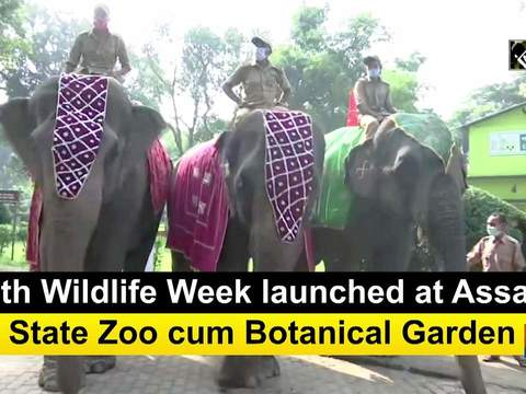 66th Wildlife Week launched at Assam State Zoo cum Botanical Garden
