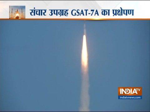 ISRO ने जीसैट 7 ए सैटेलाइट लॉन्च किया