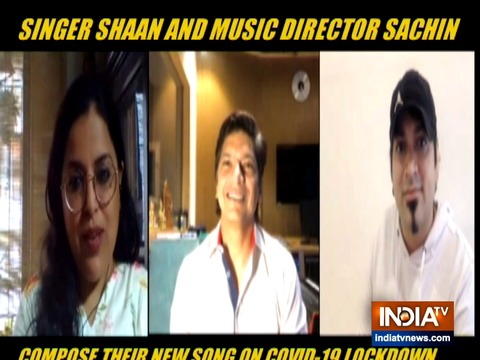 Singer Shaan, Sachin Gupta talk exclusively to IndiaTV about their new song 'World Prayer'