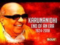 RIP Karunanidhi: End of an Era