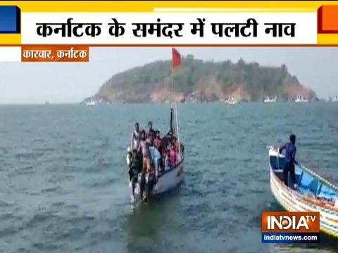 कर्नाटक में नाव पलटने से 6 लोगों की मौत