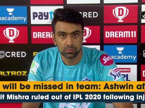 He will be missed in team: Ashwin after Amit Mishra ruled out of IPL 2020 following injury