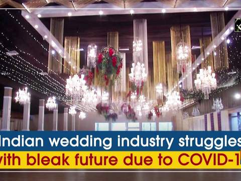 Indian wedding industry struggles with bleak future due to COVID-19