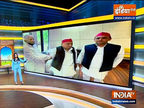 Abki Baar Kiski Sarkar | Lalu Yadav, Mulayam Singh meet in Delhi