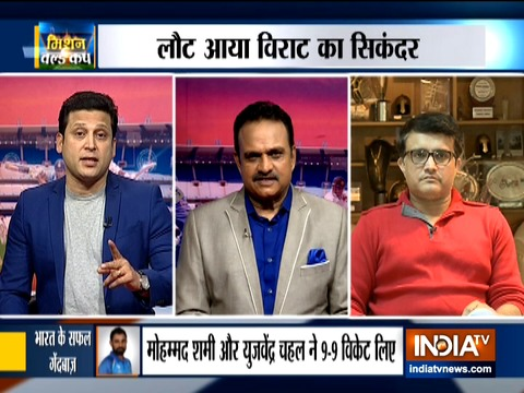Exclusive   Sourav Ganguly hails 'determined' Team India after another overseas series win