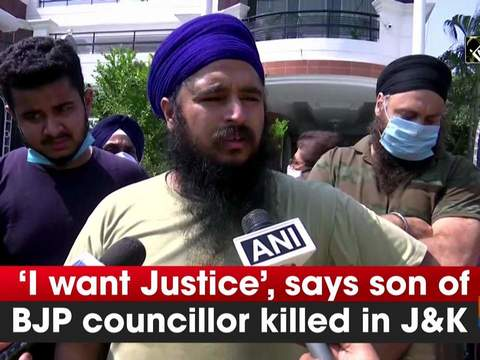 'I want Justice', says son of BJP councillor killed in J-K