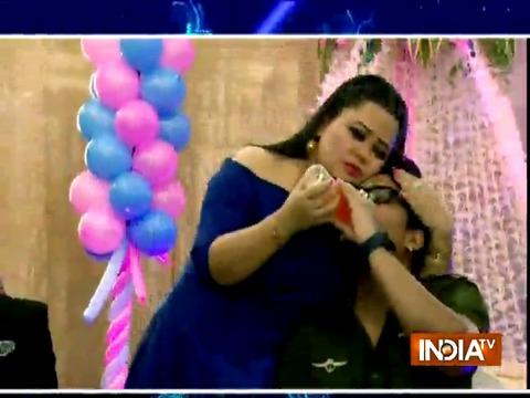 Bharti Singh, Monalisa attend Mubeen Saudagar's wife's baby shower