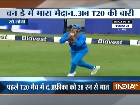 Ind Vs SA, 1st T20: Bhuvneshwar claims five-for as India beat South Africa to take series lead