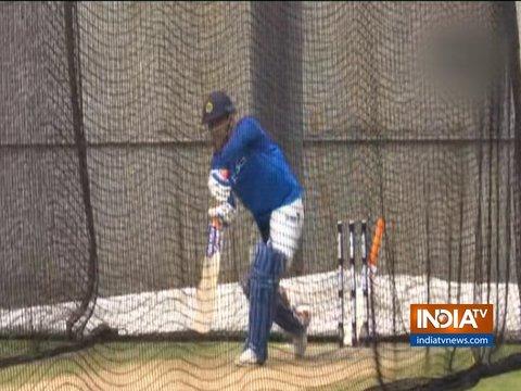 India vs New Zealand: Team India practices ahead of ODI series opener