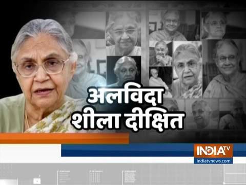 नेता ने दी दिल्ली की पूर्व मुख्यमंत्री शीला दीक्षित को श्रद्धांजलि