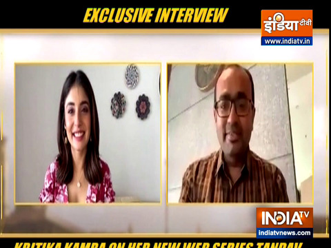 Actress Kritika Kamra talks about her role in film 'Tandav'