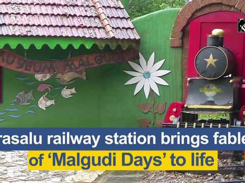 Arasalu railway station brings fables of 'Malgudi Days' to life