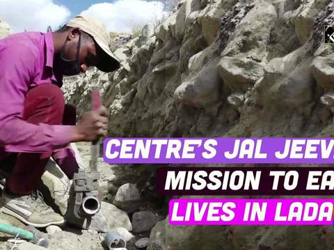 Centre's Jal Jeevan Mission to ease lives in Ladakh