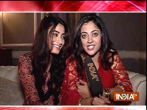 TV celebrities accept thumb wrestling challenge by Saas Bahu Aur Suspense