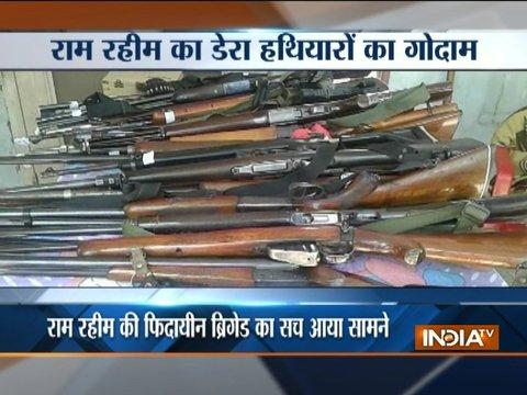 Huge cache of weapons recovered from Dera premises in Sirsa