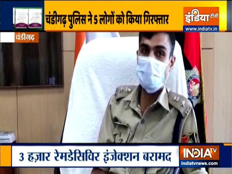 Remdesivir illegal sale racket busted in Chandigarh, 5 held