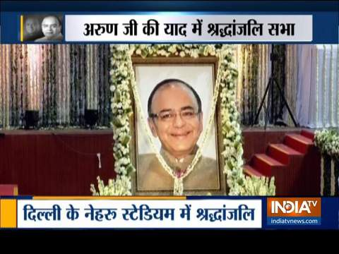 Delhi: BJP holds condolence meet for former Finance Minister Arun Jaitely