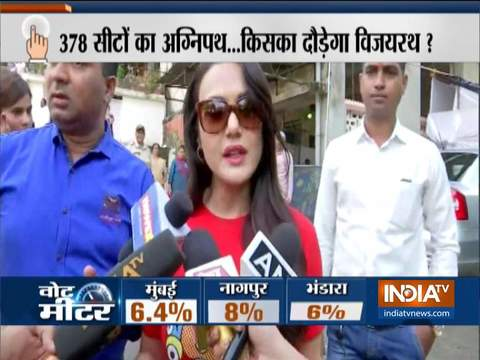 Maharashtra Assembly Polls 2019: Actress Preity Zinta casts her vote in Mumbai