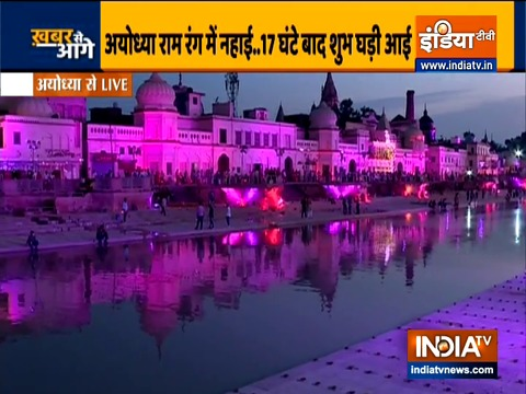 One lakh diyas to light up at Sarayu in Ayodhya amid Bhoomi pujan