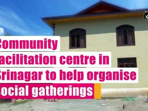 Community facilitation centre in Srinagar to help organise social gatherings
