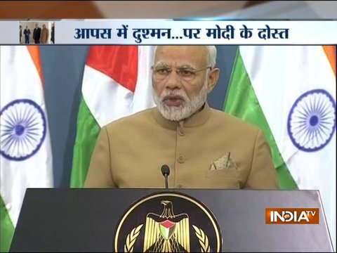 PM Modi in Palestine: India hopes for an independent Palestine soon, says PM