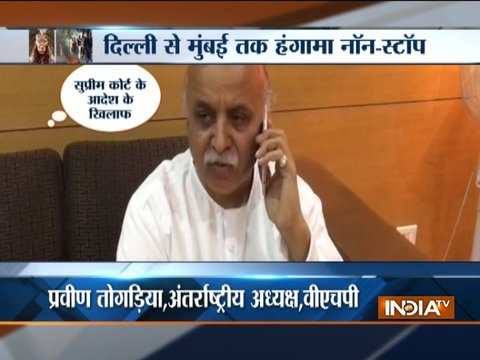 Padmavati: VHP's Pravin Togadia 'threatens' violence if 'Padmavati' is released