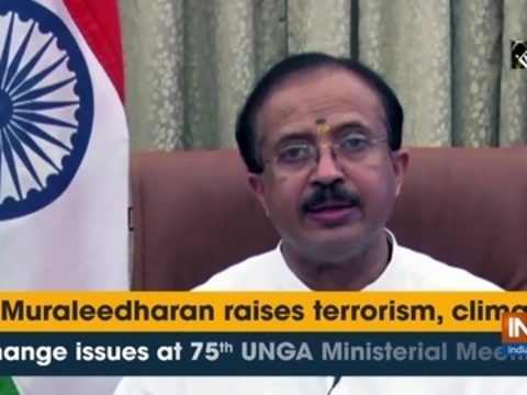 V Muraleedharan raises terrorism, climate change issues at 75th UNGA Ministerial Meeting