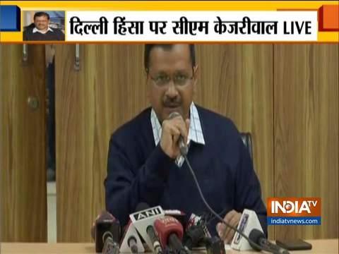 दिल्ली के मुख्यमंत्री अरविंद केजरीवाल ने लोगों से शांति बनाए रखने की अपील की
