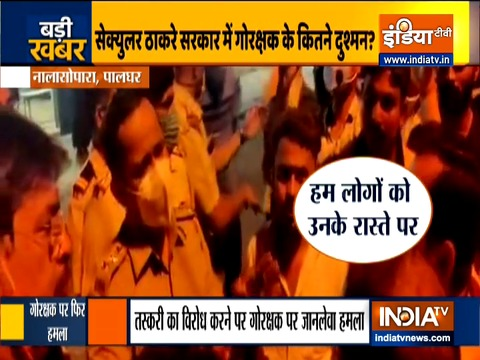 Gau Rakshak attacked, assaulted by violent mob in Nalasopara in presence of police