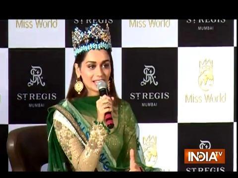 Miss World Manushi Chhillar reveals her Bollywood plans