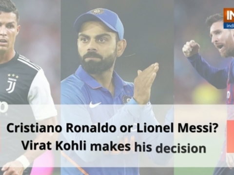 Cristiano Ronaldo or Lionel Messi? Virat Kohli makes his decision