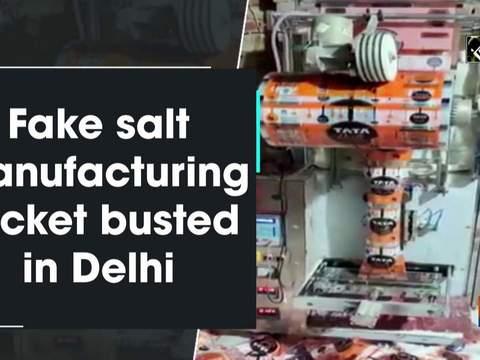 Fake salt manufacturing racket busted in Delhi