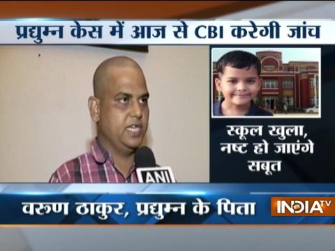 Reopening of the Ryan school will erase all the evidence related to the case says Varun Thakur
