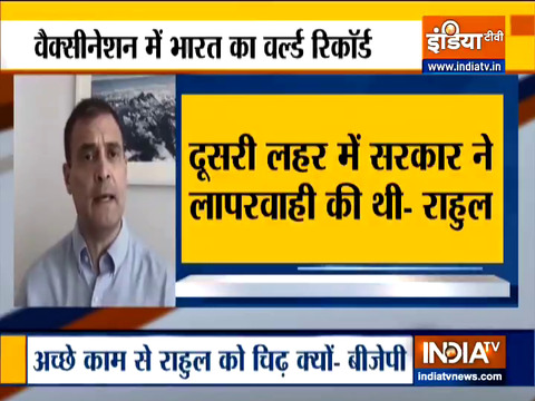 Rahul launches frontal attack on govt over Covid handling, BJP hits back