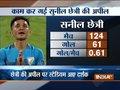 Skipper Sunil Chhetri scores twice in 100th game as India crush Kenya 3-0