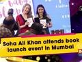 Soha Ali Khan attends book launch event in Mumbai