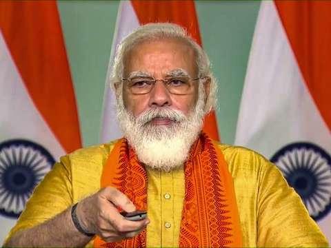 PM Modi inaugurates projects related to Namami Gange in Uttarakhand