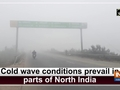 Cold wave conditions prevail in parts of North India