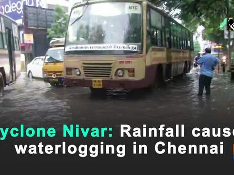 Cyclone Nivar: Rainfall causes waterlogging in Chennai