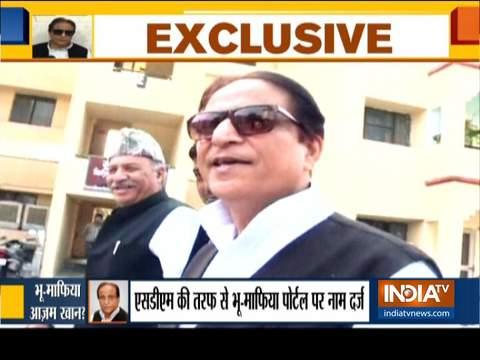 योगी सरकार ने समाजवादी पार्टी के वरिष्ठ नेता आज़म खान को घोषित किया 'भू-माफिया'