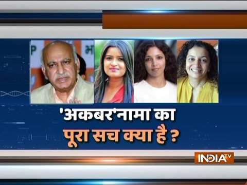 Union Minister MJ Akbar won't resign over #MeToo, warns of legal actions