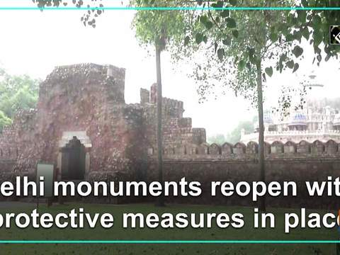 Delhi monuments reopen with protective measures in place