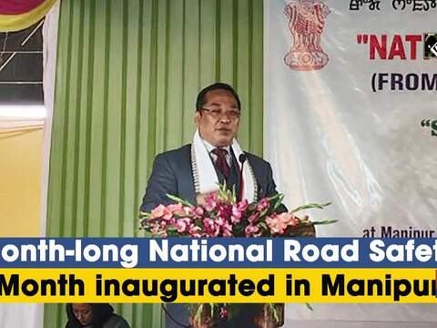 Month-long National Road Safety launched in Manipur