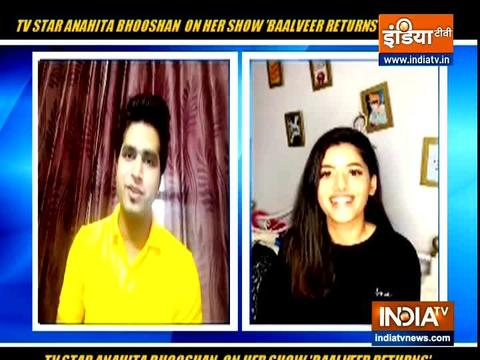 Actress Anahita Bhooshan speak about her show Baalveer Returns