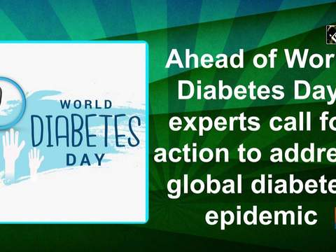 Ahead of World Diabetes Day, experts call for action to address global diabetes epidemic