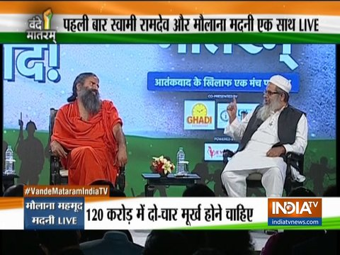 Vande Mataram India TV: Baba Ramdev, Maulana Madani talk nationalism