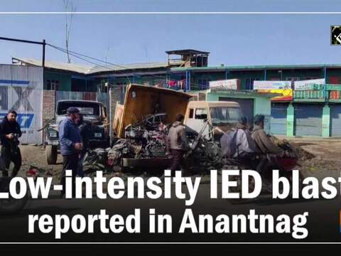 Low-intensity IED blast reported in Anantnag