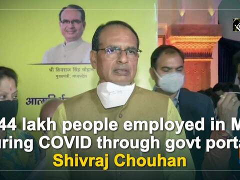 1.44 lakh people employed in MP during COVID through govt portal: Shivraj Chouhan